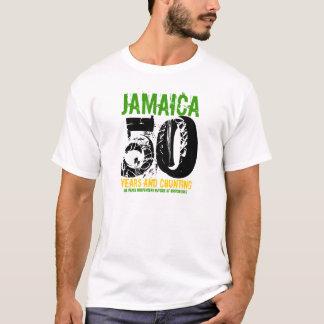Unabhängigkeits-Feier-T - Shirt Jamaikas 50