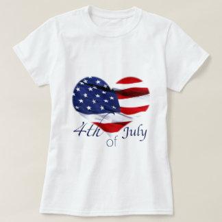 Unabhängigkeits-TagesKrawatte T-Shirt
