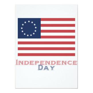 Unabhängigkeitstag 16,5 X 22,2 Cm Einladungskarte