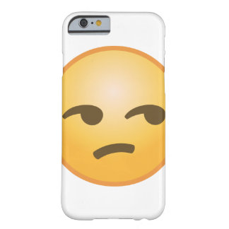Unamused Emoji Barely There iPhone 6 Hülle