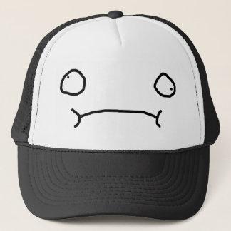Unansehnliches Gesicht (traurig) Truckerkappe