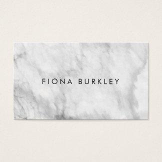 Unbedeutende Marmorbeschaffenheits-Visitenkarte Visitenkarte