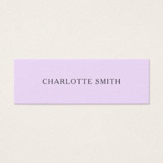 Unbedeutende modische moderne PastellVisitenkarten Mini Visitenkarte