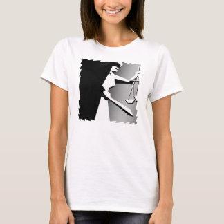 Unbedeutende Schwarzweiss-Gerechtigkeit T-Shirt