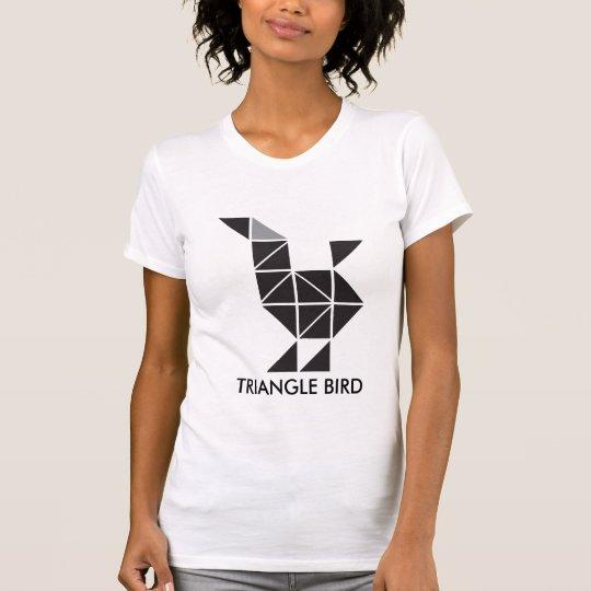 Unbedeutendes Dreieckvogel-Motivt-shirt T-Shirt