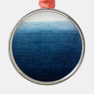 Unbedeutendes Indigo der Annäherungs-2 Silbernes Ornament