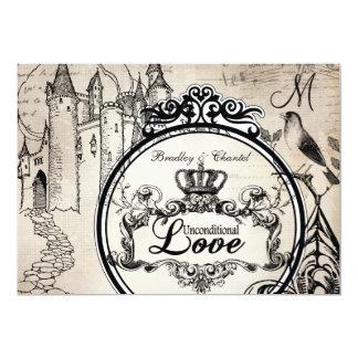Unbedingtes Liebe-Sahne12x18, das Einladung