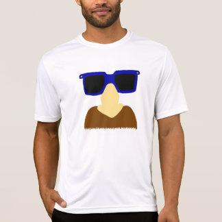 Unbekannte Schnurrbart-u. Glas-Shirts T-Shirt