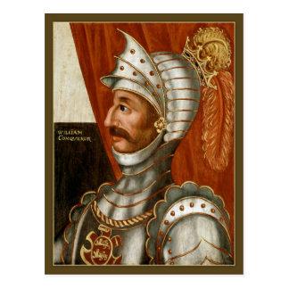 Unbekannter britischer William der Eroberer C. Postkarte