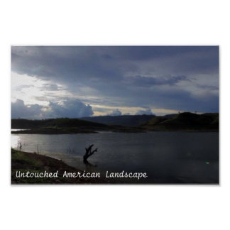 Unberührte amerikanische Landschaftflüsse und Poster