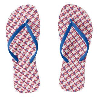 Uncle Sam Am 4. Juli USA patriotische Flip Flops