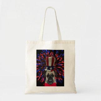 Uncle Sam Mops-Taschen-Tasche Tragetasche