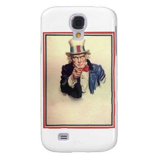 Uncle Sam Plakat-Schablone Galaxy S4 Hülle