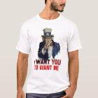 """Uncle Sam Sagt, """"Ihre persönliche Mitteilung """" T-Shirt"""