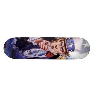 Uncle Sam Skateboardbrett