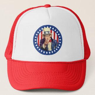 Uncle Sam US Flagge Truckerkappe