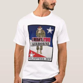 Uncle Sam Will Sie im Flugzeug jetzt T-Shirt