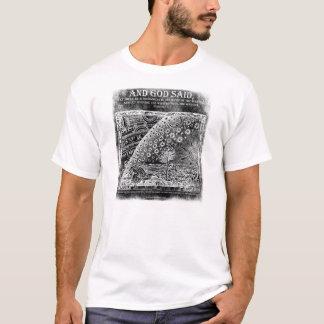 UND GOTT SAGTE ~ FLACHE ERDE T-Shirt