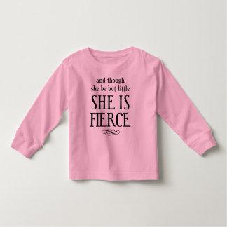 Und obwohl sie aber wenig ist, ist sie heftig! kleinkind t-shirt