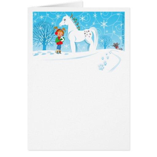 Une agrafe Clop Noël de club Carte De Vœux