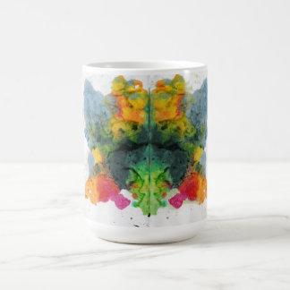 Unfug färbt Regenbogen-Dinosaurier Kaffeetasse