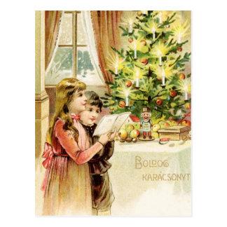 Ungarisches Weihnachten 1902 Postkarte
