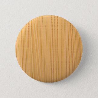 Ungekochte Spaghettis Runder Button 5,7 Cm