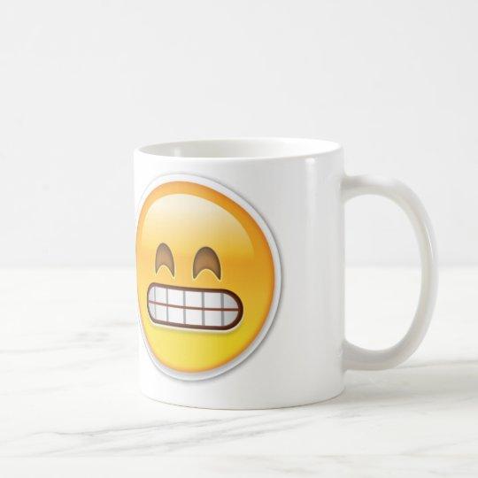 Ungeschicktes Emoji Kaffeetasse