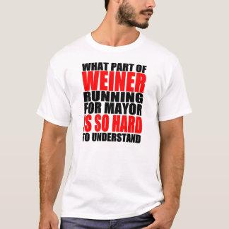 Unglaublich witzig Anthony Weiner für T-Shirt