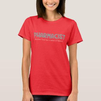 Unglaublich witzig Apotheker-Gott-Richtung des T-Shirt
