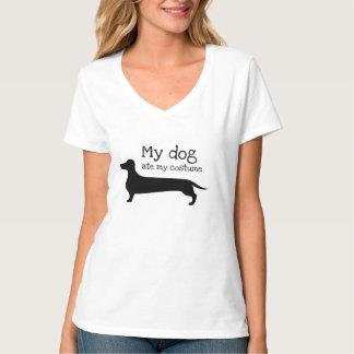 Unglaublich witzig aß mein Hund mein Kostüm T-Shirt