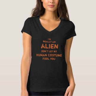 Unglaublich witzig bin ich wirklich ein alien T-Shirt