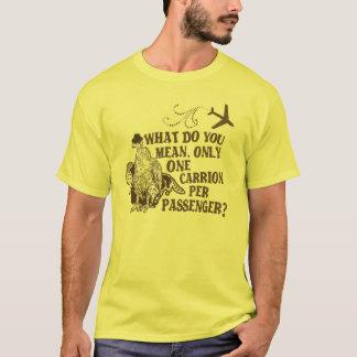 Unglaublich witzig Fluglinienwitz T-Shirt