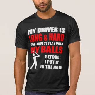 Unglaublich witzig Golf-Slogan T-Shirt