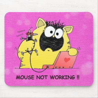 Unglaublich witzig Katze u. Mausunterlage, Mousepad