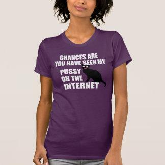 Unglaublich witzig Katzen-Zitat T-Shirt