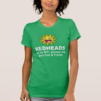 Unglaublich witzig Redhead BESTE FREUNDIN T-Shirt