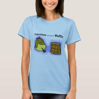 Unglaublich witzig Zitronen-und Waffel-T-Stück T-Shirt