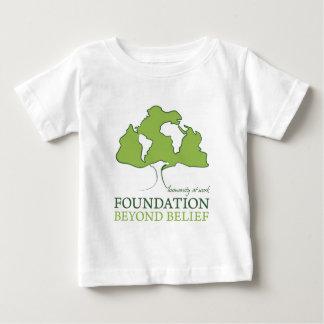 Unglaubliches Logo der Grundlage Baby T-shirt