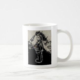 unheimliches Häschen Kaffeetasse