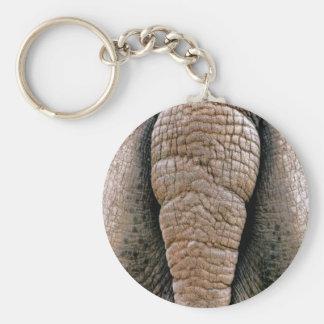Unhöfliche lustige Nashorn-Unterseiten-kundenspezi Schlüsselanhänger