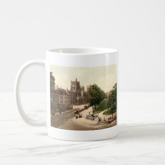 Uni-Grün, Bristol, England Kaffeetasse