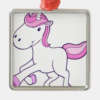 unicorn11 silbernes ornament