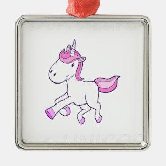 unicorn5 silbernes ornament