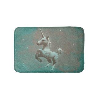 Unicorn-Bad-Matte (aquamariner Stahl) Badematte