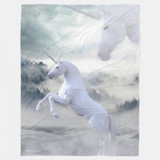 Unicorn-Fantasie-Fleece-Decke Fleecedecke
