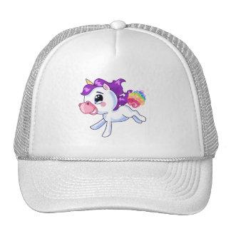 Unicorn-Furzen Baseballkappen