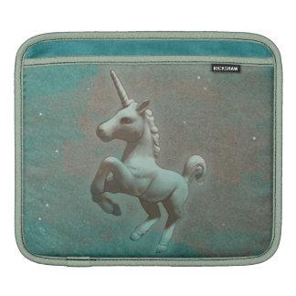 Unicorn iPad Hülse (aquamariner Stahl) iPad Sleeve