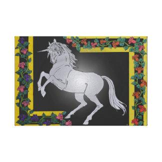 Unicorn-Leinwand-Druck Leinwanddruck