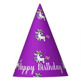 Unicorn-Partyhüte, kawaii Unicorn Partyhütchen